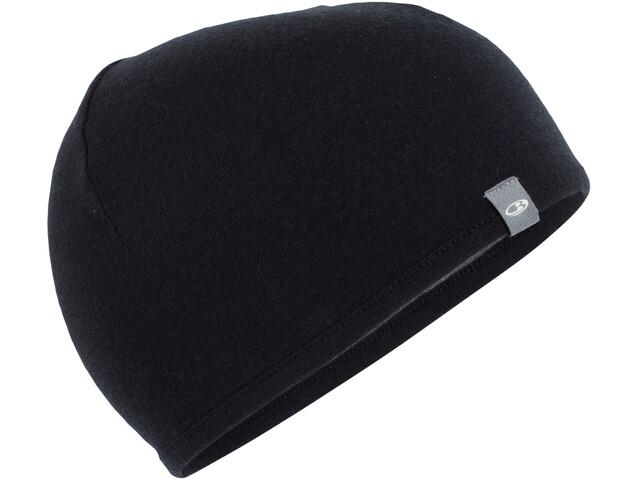 Icebreaker Pocket Hat black/gritstone heather